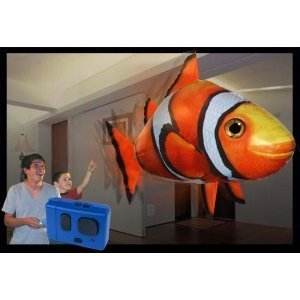 Air Swimmers Remote Control Flying Clownfish by William Mark