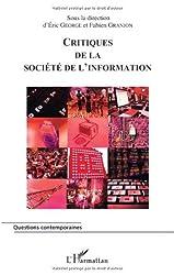 Critiques de la société de l'information