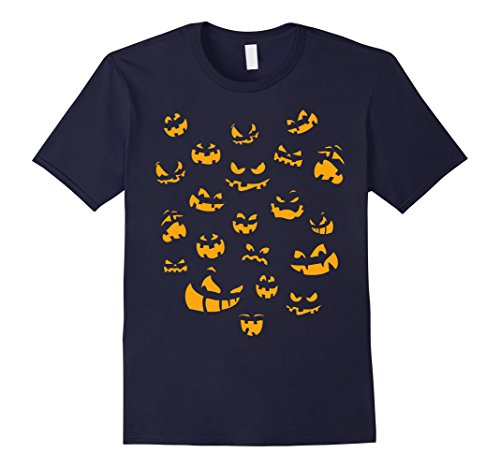 Mens Funny Halloween T Shirt Laughing Pumpkins Costume 2XL (Funny Halloweeen Costumes)