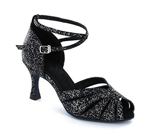 Minitoo - salón mujer Negro - Floral Black