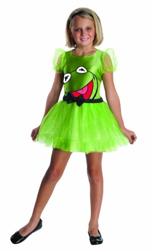 The Muppets Kermit The Frog Girls Costume - Medium