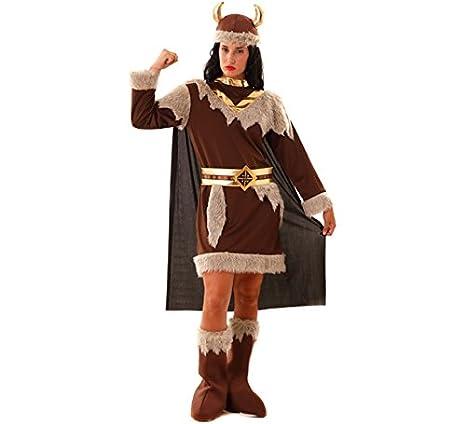 ea2164b209668 Disfraz de Vikinga para Mujer  Amazon.es  Juguetes y juegos