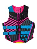 Body Glove Women's Phantom Uscga Life Vest, Medium, Aqua Pink