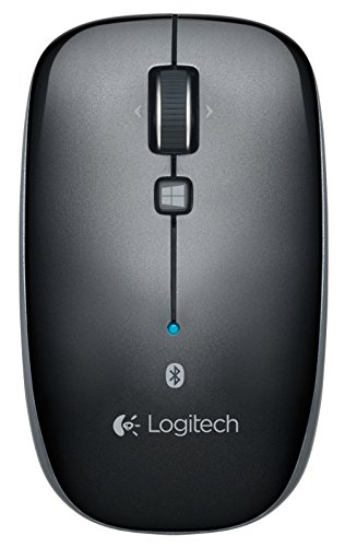 Logitech Bluetooth Mouse M557 for PC, Mac and Windows 8 Tablets (910-003971) (Bluetooth For Mac)