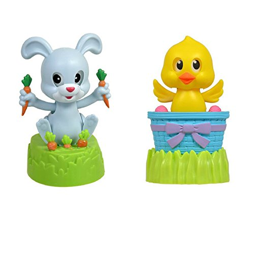 Solar Bunny (Solar Dancing Bunny and Chick (Set of 2))