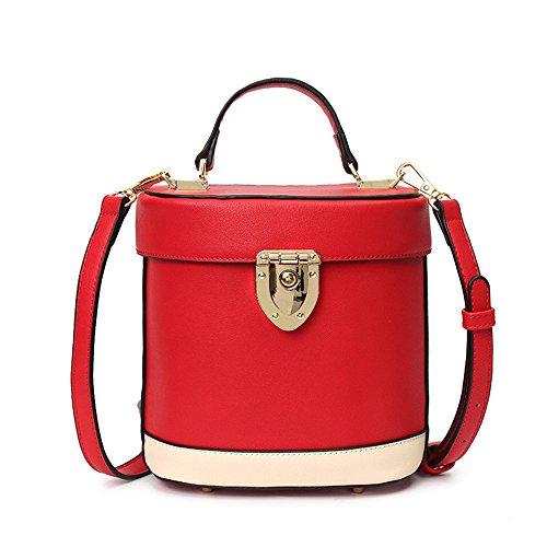 Lady Cerradura Handbag Gules Baldes Nueva GWQGZ Gules taqw11