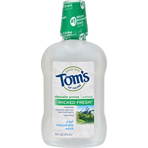 Toms Maine Lasting Mouthwash Cool Mountain product image