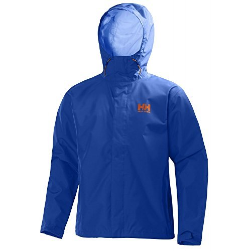 Helly Hansen Men's Seven J Rain Shell Jacket, Classic Blue, 3X-Large by Helly Hansen