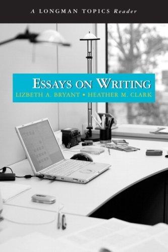 Essays on writing a longman topics reader