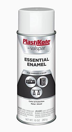 (PlastiKote 2504 All Purpose Gloss White Spray Enamel - 10 oz.)