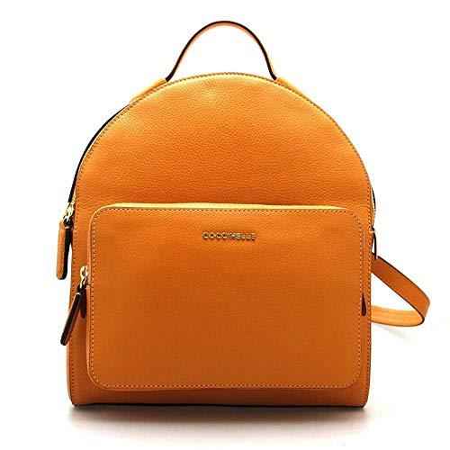 COCCINELLE Backpack Female Orange - E1DF8140101R12