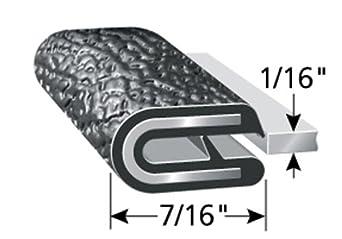 Trim-Lok Edge Trim PVC Plastic Edge Protector for Sharp and Rough Surfaces Flexible