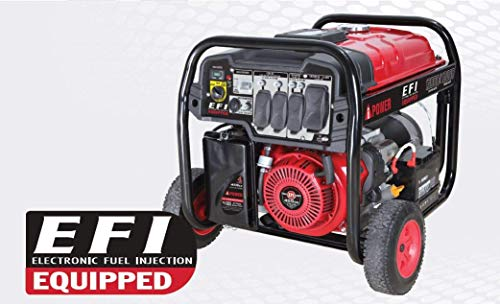 A-iPower SUA13000EFI 13,000 watt Fuel Injection Generator, 1.1 liters
