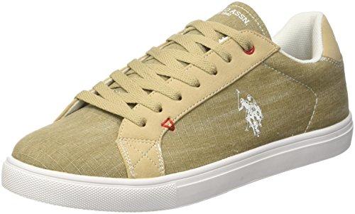 Uspolo Assn. Herren Tunis Sneaker Beige (beige Bei) Hommes Baskets (beige)