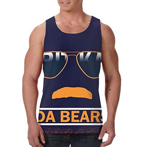 LIN. Summer Men's Undershirt Crew Neck Da Bears