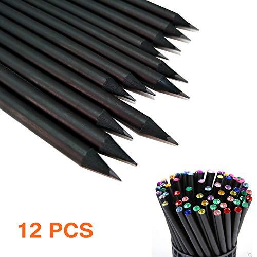 Wood Black Pencils (12 PCS HB Pencil Set 7