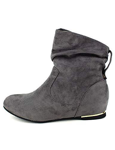 Star Moda Femme Cendriyon Bello Grises Bottines Gris Chaussures fnwPB4pxP