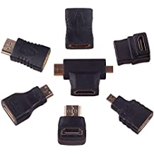 90 degree Hdmi Cable M/M adapter sets (7 adapter)