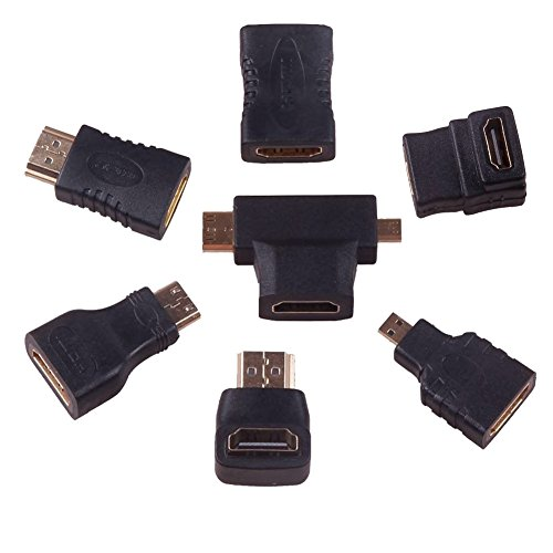 90 degree Hdmi Cable M/M adapter sets (7 adapter) (Samsung Tablet Hdmi Cable)