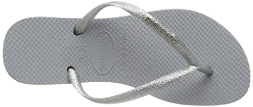 Metallic Logo 4119875 Slim Donna Havaianas grey Infradito Grigio wE5AUtxq