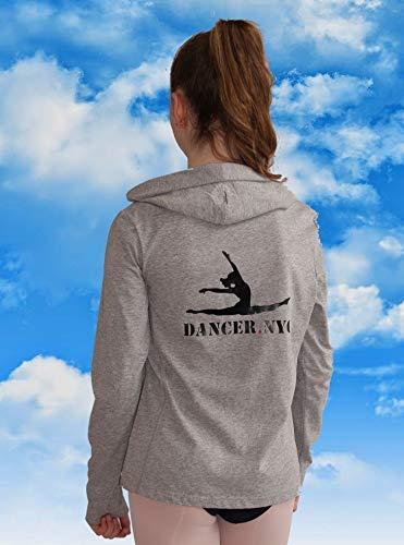 Dancer.NYC Junior Long Sleeved Double Zip Hoodie