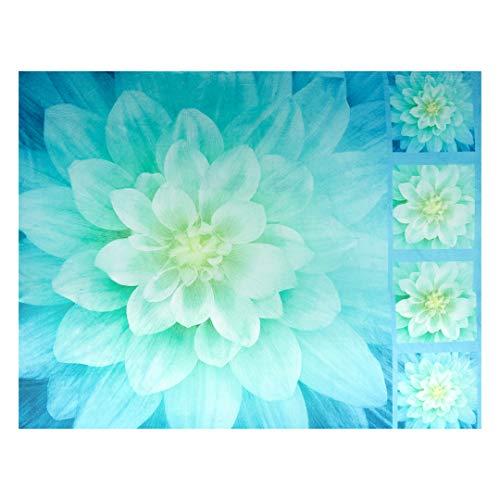 Shannon Fabrics Digital Minky Cuddle 46'' Panel Floral