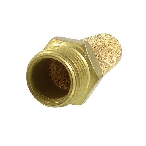 0.75' Exhaust (DealMux 3/8 PT Tópico sinterizado Bronze pneumático Exhaust Silencer Silenciador)