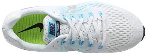 Multicolor Running Pegasus 104 De white metallic Para 34 Blue glacier Nike Silver Mujer Zapatillas Air Zoom 1qxYzw
