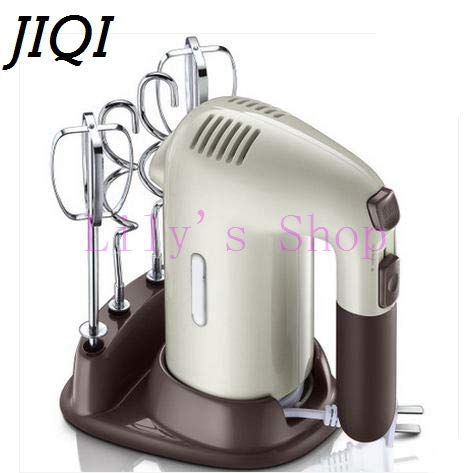 JIQI Automatic Multifunction Household Electric Dough Mixer Handheld Eggs Bea Automatic Multifunction household electric Dough Mixer Handheld Eggs Beater Blender Whisk Whipping Cream Cake Baking Tools by JIQI