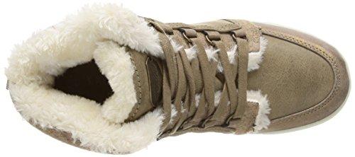 Kaporal Pagan, Damen Hohe Sneakers Beige (beige Foncé)