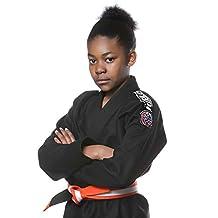 Tatami Kids Nova Jiu Jitsu Gi - Black (w/ Free White Belt)