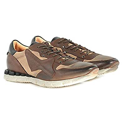 Mister Shoes Brown Fashion Sneakers For Men