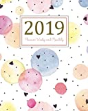2019 Planner Weekly and Monthly: A Year - 365 Daily - 52 Week Journal Planner and Notebook, Daily Weekly and Monthly Calendar, Agenda Schedule