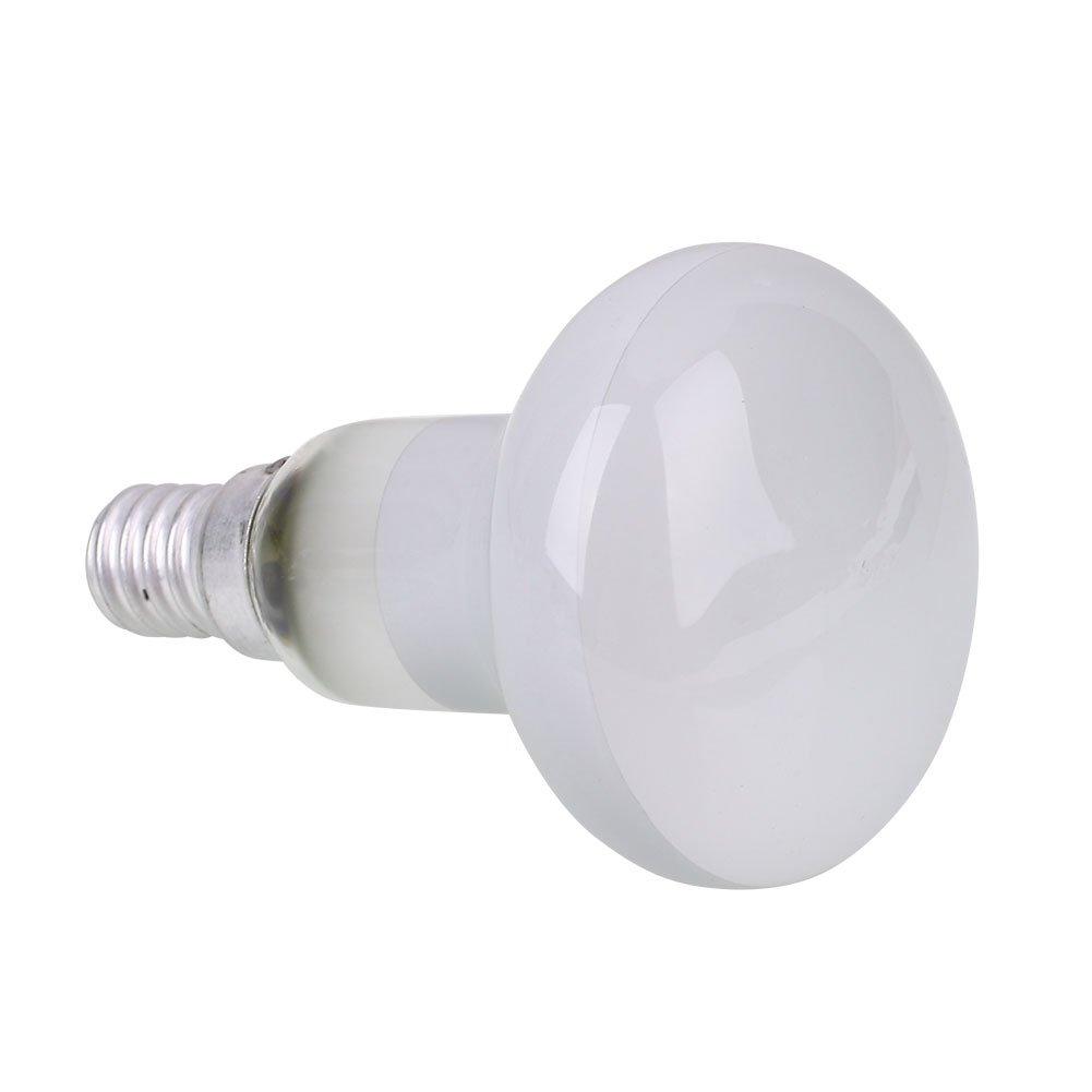 Gladle Filament de lumi/ère de tache de r/éflecteur Lampe de Lave Ampoule 40W R50 E14 Vis SES 1 PCS