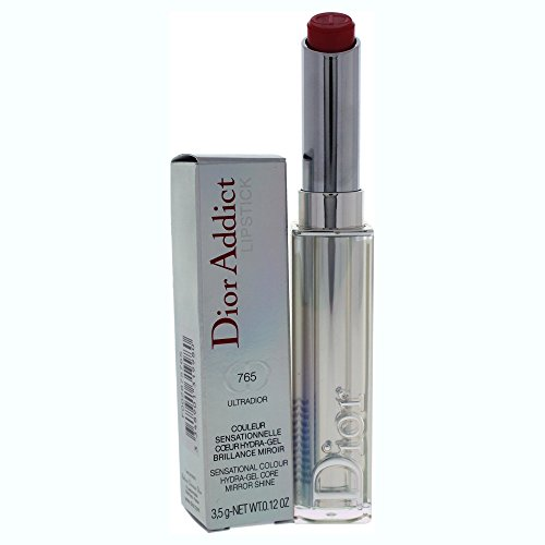 Christian Dior Addict Lipstick Hydra-Gel Core Mirror Shine Lipstick, No. 765 Ultradior, 0.12 Ounce ()