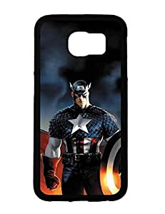 Case Cover Deidara's Shop Galaxy S6 Case, Captain America Character Anime Print Protective Case Cover for Samsung Galaxy S6 3944315M815227798