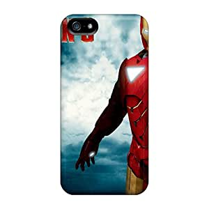 For Iphone 5/5s Protector Case Iron Man 3 Phone Cover