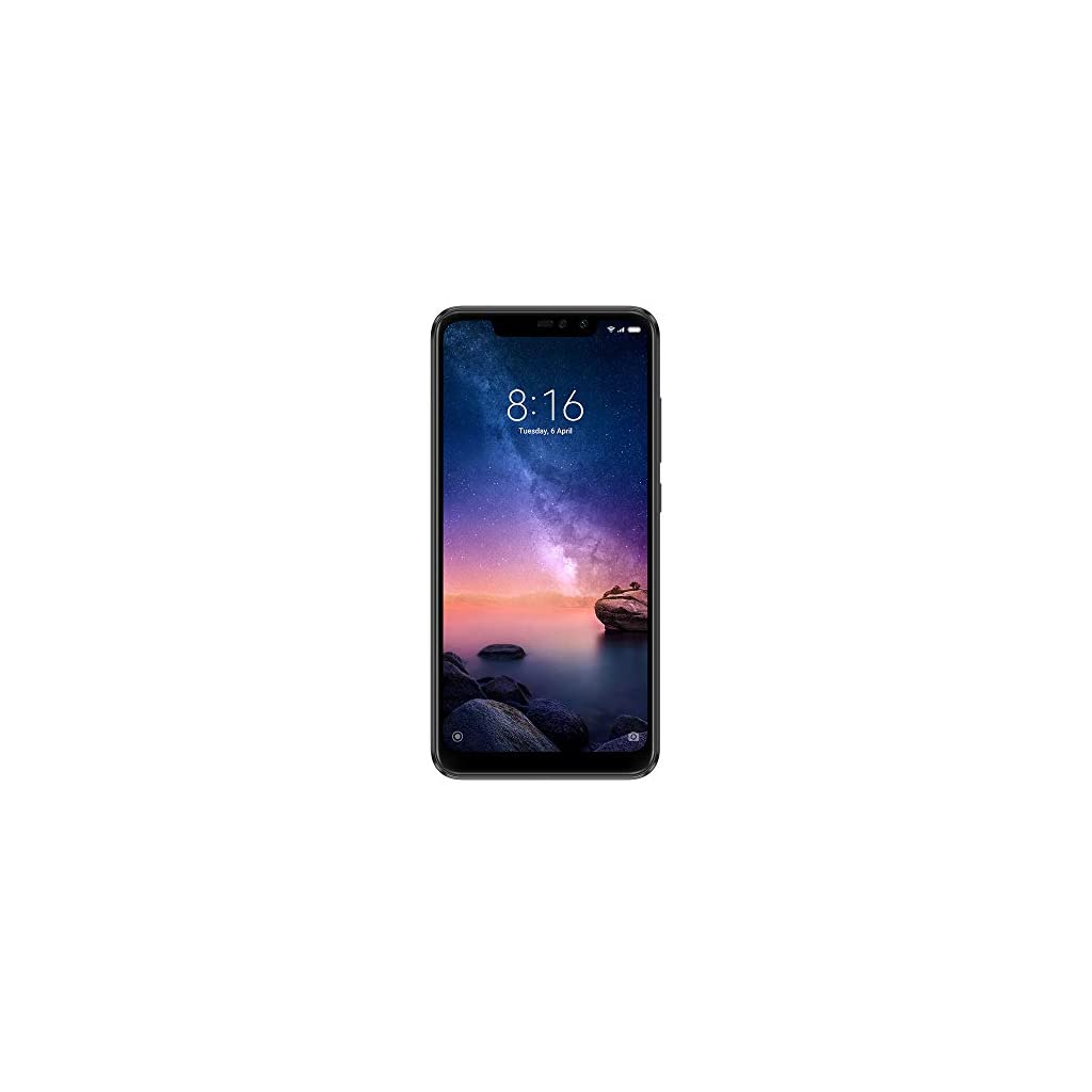 Xiaomi-Redmi-Note-6-Pro-Smartphone-de-626-Dual-SIM-12-MP-4-GB-RAM-64-GB-Memoria-Negro es