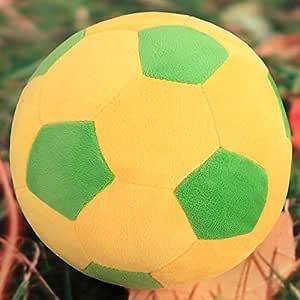 XuBa - Almohada de balón de fútbol de Peluche Suave y Duradera ...