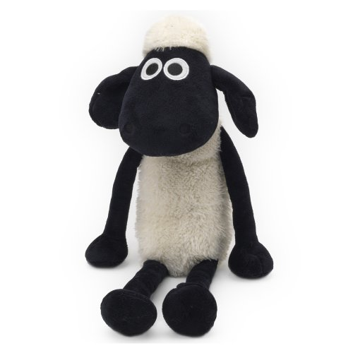 / White / 35/ cm/  Nici 39658/ Floppy Shaun the Sheep/