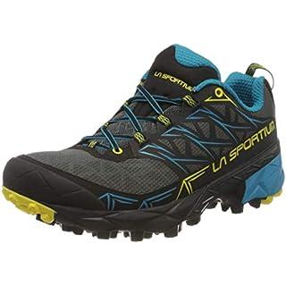 La Sportiva Akyra Carbon/Tropic Blue Talla: 43 Men's Trail Running Shoes