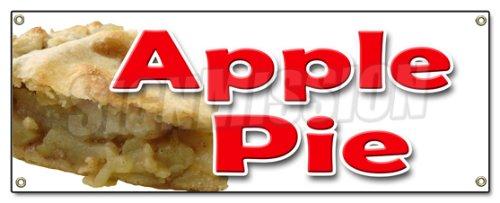 - Apple Pie Banner Sign Baker Sweets Pie Crust Apple Dutch Cobbler Home Made Fresh