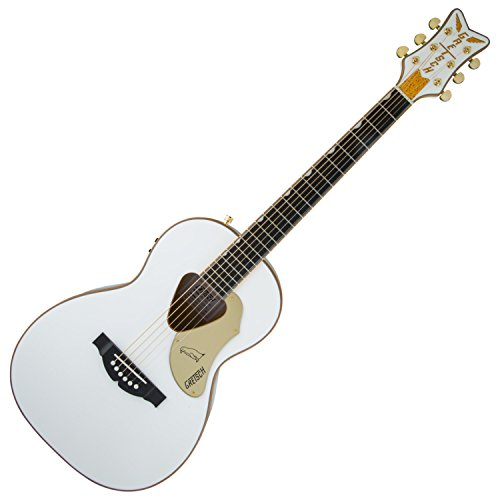 Cutaway Guitar Gretsch (Gretsch Guitars G5021WPE Rancher Penguin Parlor Acoustic/Electric White)