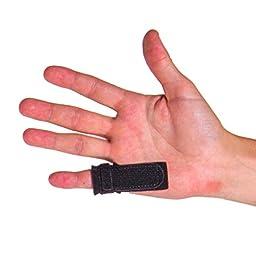 BraceAbility Trigger Finger Splint Natural Home Remedy - Treat Finger Stiffness, Pain, Popping & Clicking from Stenosing Tenosynovitis