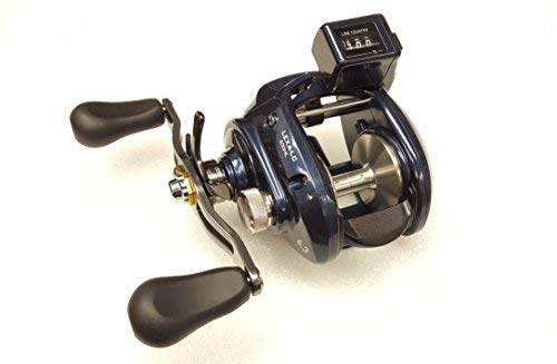 Plus Line Counter Reel - Daiwa Reels Line Counter LEXA-LC400HL Lexa 400Linecounter Baitcasting Reel
