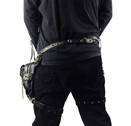 Family Fashion Shoulder Steampunk Punk Bag Crossbody Vintage Women's Cwq1qExdXR