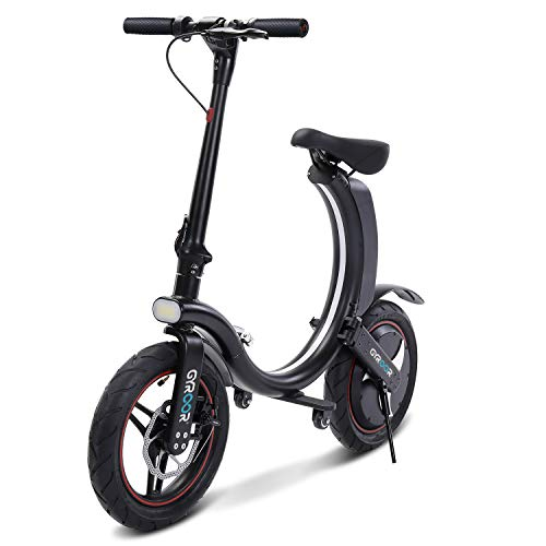 Gyroor 450W Folding Electric Bike