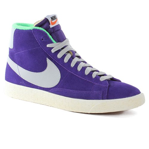 online store 6030a 89076 nike blazer MID PRM VNTG SUEDE mens hi top trainers 538282 500 sneakers  shoes