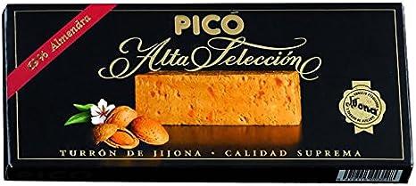 Picó - Turron de Jijona - Turron blando caja negra - Calidad superior 200gr: Amazon.es: Alimentación y bebidas