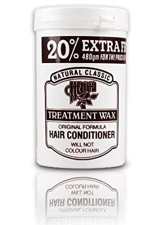 Natural Classic Henna Hair Treatment Conditioner 480g Amazon Co Uk